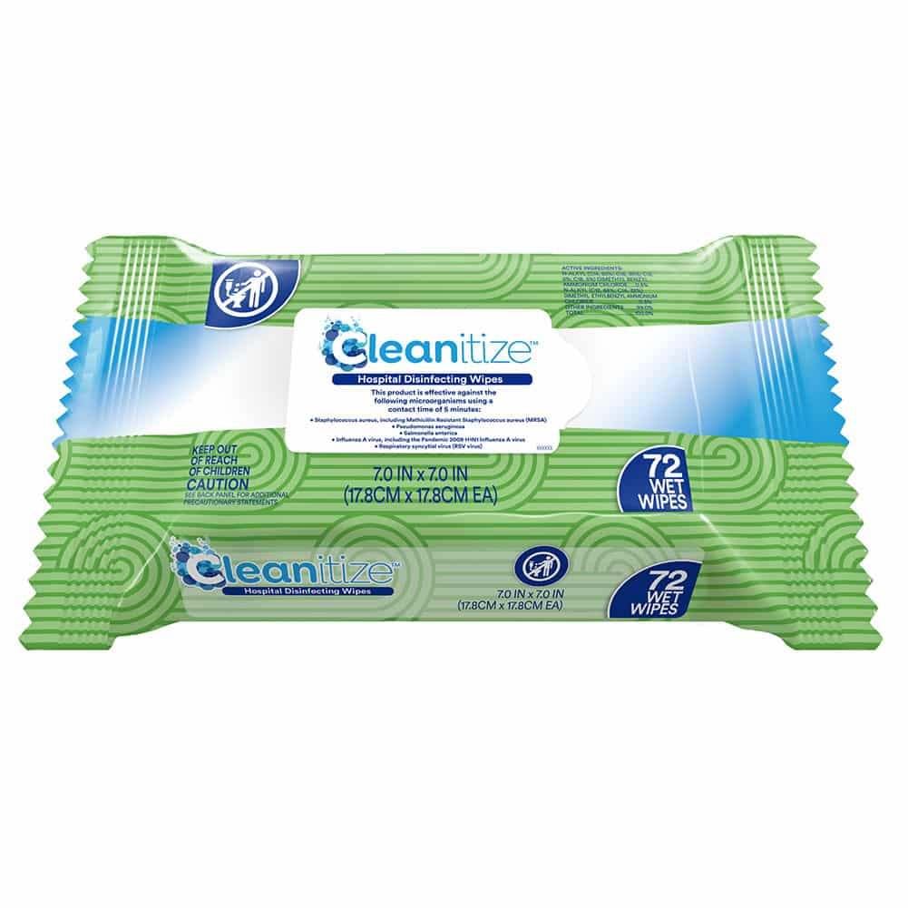 Cleanitize Hospital Disinfecting Wipes