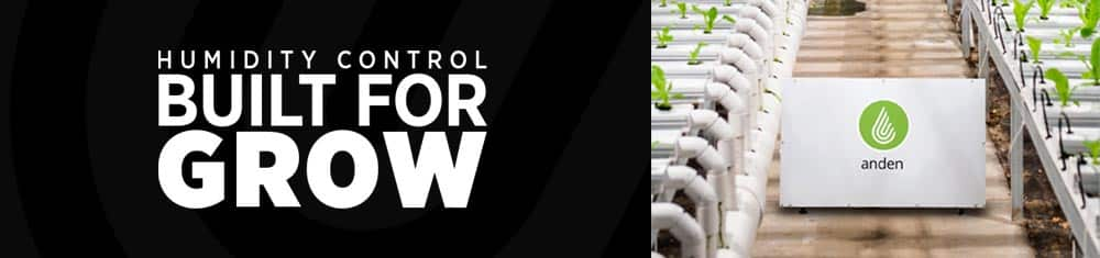 Anden: humidity control built for grow
